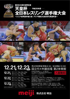 2013年全日本選手権 男子フリースタイル60kg級