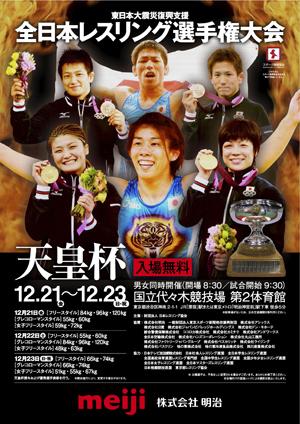 2012年全日本選手権 男子フリースタイル 96kg級