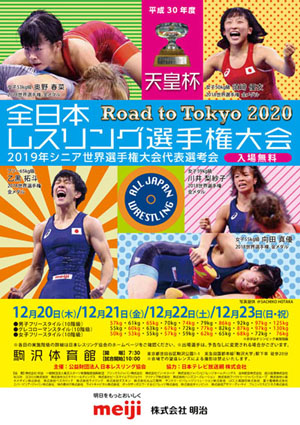 2018年全日本選手権 男子フリースタイル92kg級
